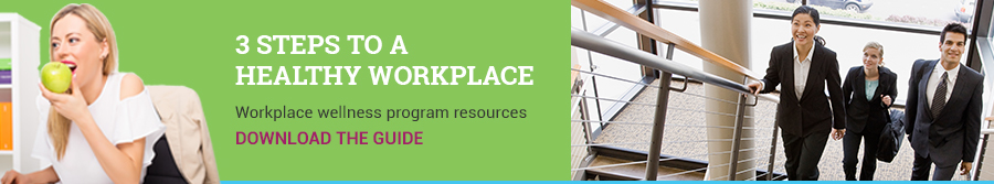 3 Steps to a Healthy Workplace. Workplace wellness program resources. Download the guide.