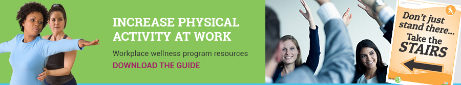 Increase Physical Activity at Work. Download the guide.
