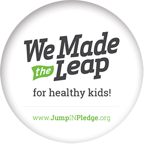 We Made the Leap for healthy kids! www.JumpINPledge.org