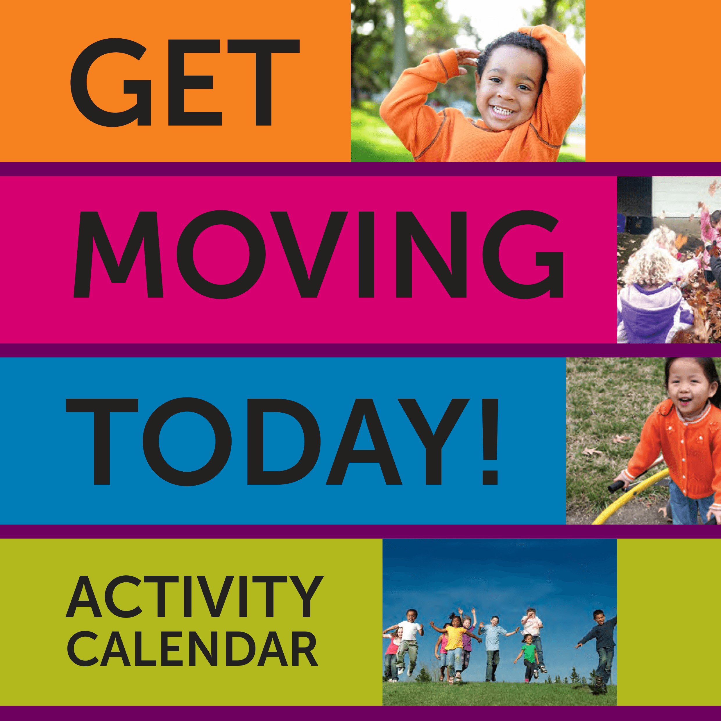 Get Moving Today Activity Calendar - December