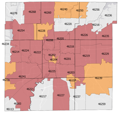 Marion County Zip Code Map | Zip Code MAP