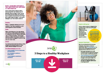 """3 Steps to a Healthy Workplace"" guide"