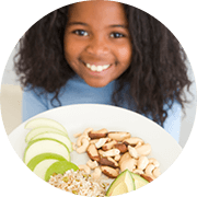 Simple school guidelines for healthy snacks